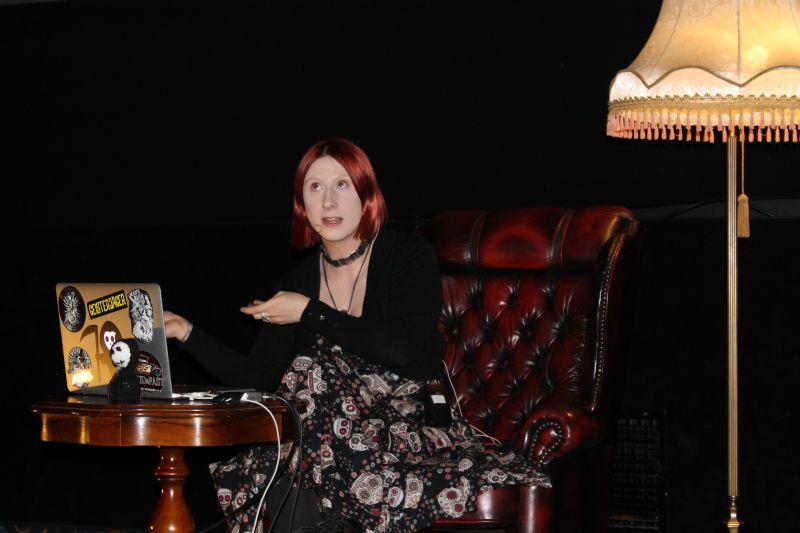 Psychologin, Therapeutin, Referentin und Kolumnistin Lydia Benecke