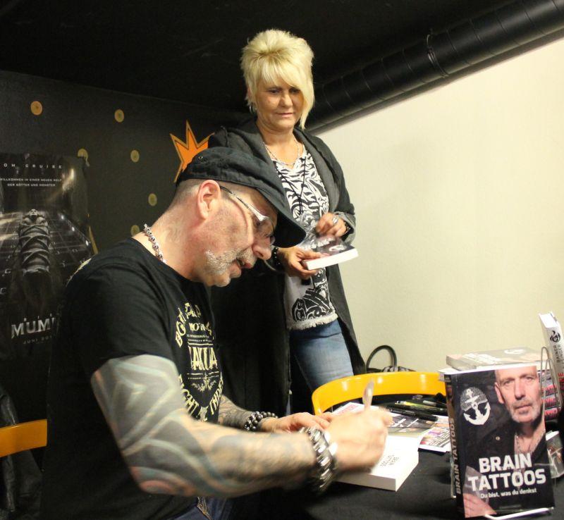 """Brain-Tattoos"" mit Heavy Metal Coach® Rainer Biesinger"