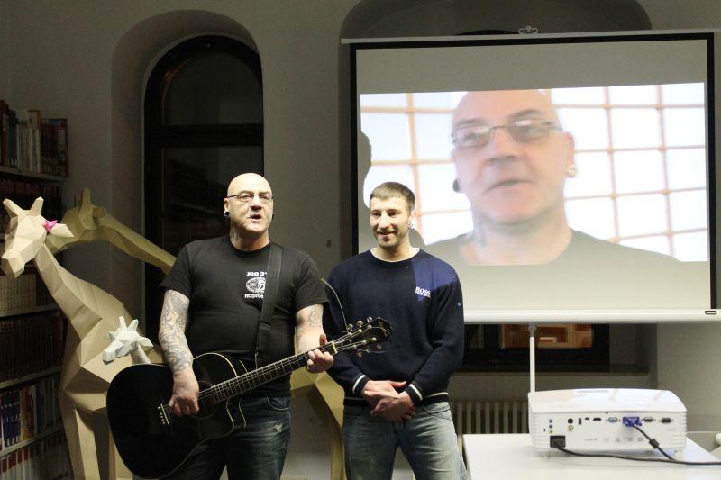 5 Jahre Kooperation JVA - Bibliothek - Bilder – Geschichten und Musik