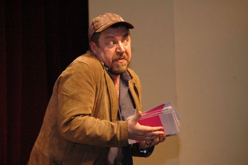 """XXI. Literaturabend der Stadt Greiz 2010  """"Größenwahn und Lampenfieber - Die Wahrheit über Schauspieler"""""""