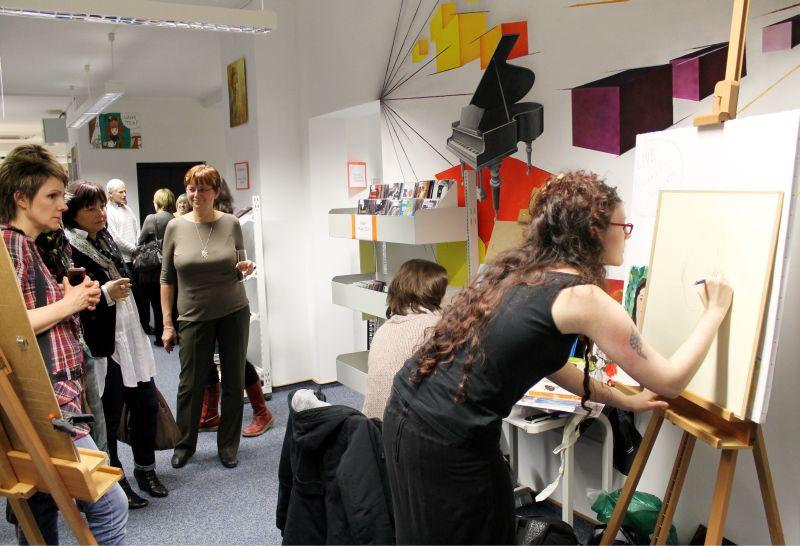 Ausstellungseröffnung - Staatliches Berufsbildungszentrum Greiz -Zeulenroda