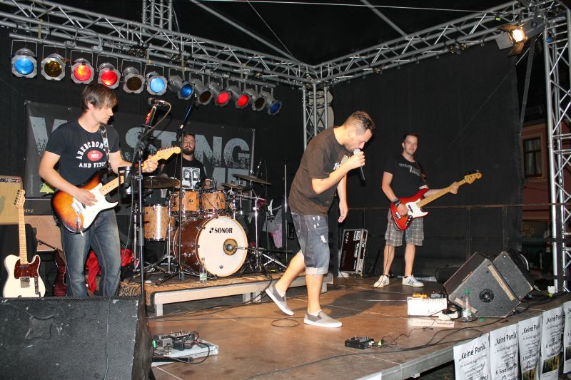 Wasting Time - Cover-Band