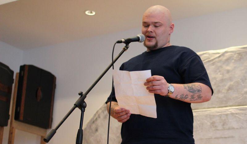 Dalibor Markovic  : Poetry Slam Workshop