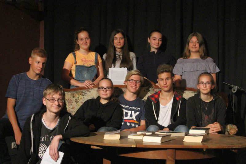 Vorlesewettbewerb für Jugendliche, jährlich seit 2009 - Lese-Scout 2018