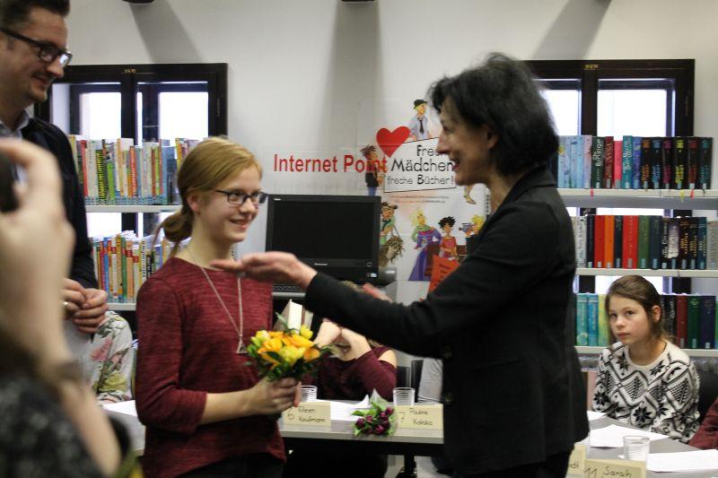 Regionalentscheid in der Bibliothek Greiz, jährlich