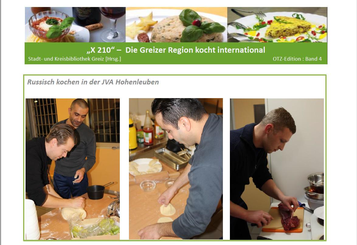 Die Greizer Region kocht international - Folgeprojekt der interkulturellen Woche  2014