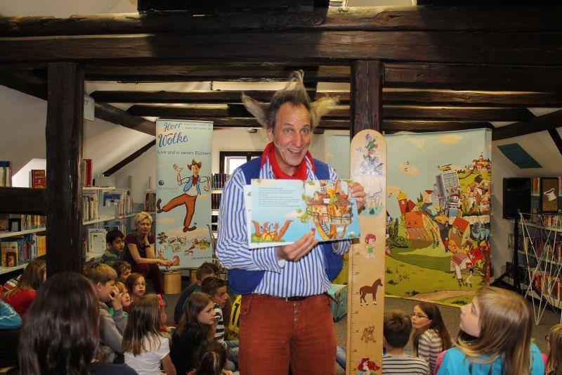 Interaktive Lese- und Zaubershow mit dem Clown und Zauberkünstler Sven Pawlitschko